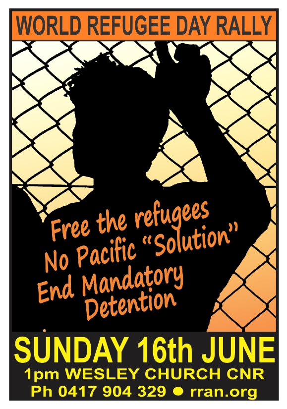 World Refugee Day rally - Sun 16 June